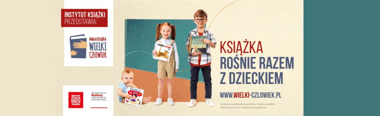"""Ruszył kolejny etap ogólnopolskiej kampanii """"Mała książka – wielki człowiek"""""""