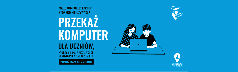Komputery dla warszawskiej młodzieży