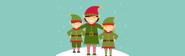 Warsztaty świąteczne z Elfami w klasie 0a i 0b