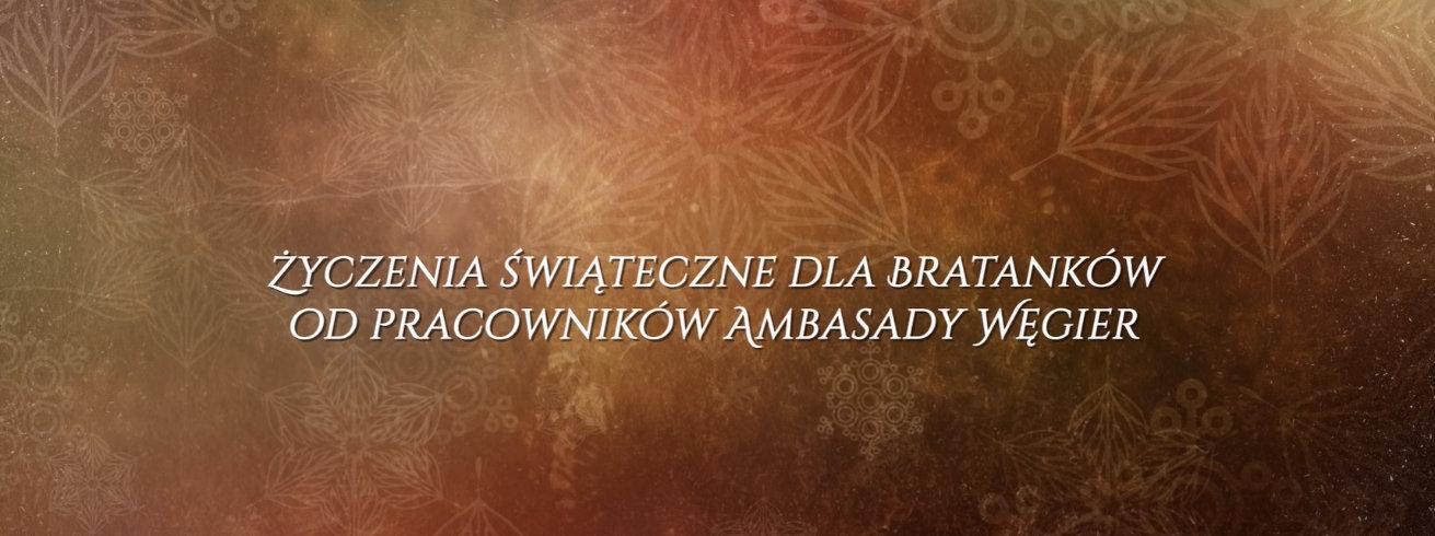 Spot świąteczny Ambasady Węgier